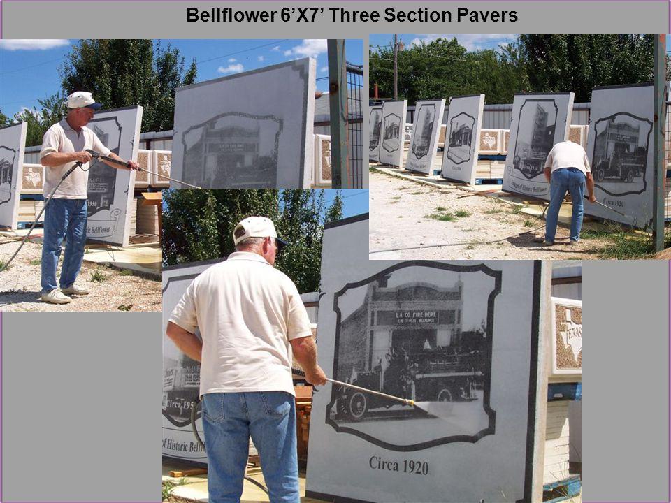 Bellflower 6'X7' Three Section Pavers