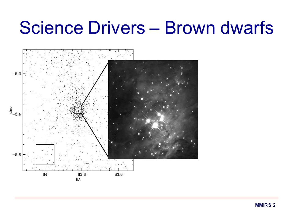 MMIRS 2 Science Drivers – Brown dwarfs