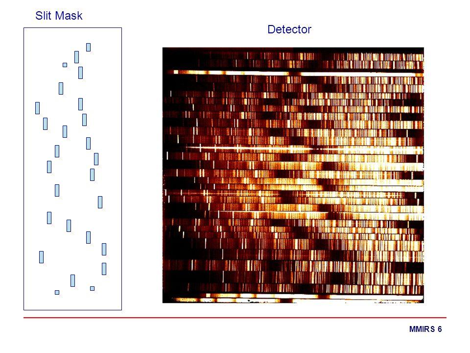 MMIRS 6 Slit Mask Detector