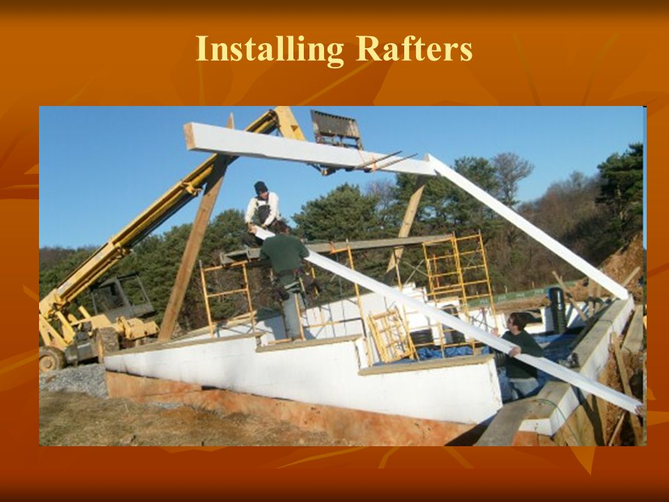 Installing Rafters