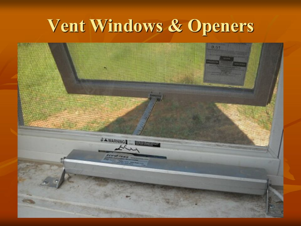 Vent Windows & Openers