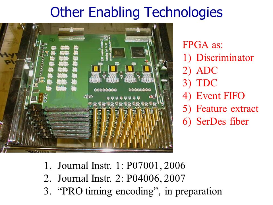 7 Test System Readout Block Diagram Up to 7x64 channels per cPCI card Up to 32,256 channels/cPCI crate Photo- Sensor BLAB2 MCP MAIN cPCI CARD x7 cPCI Crate (Linux) Giga-bit Fiber Very cost effective, board hardware already exists COPPER