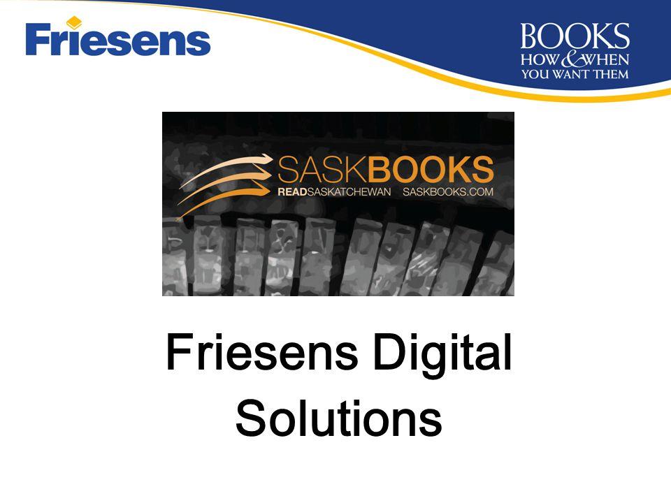 Friesens Digital B&W