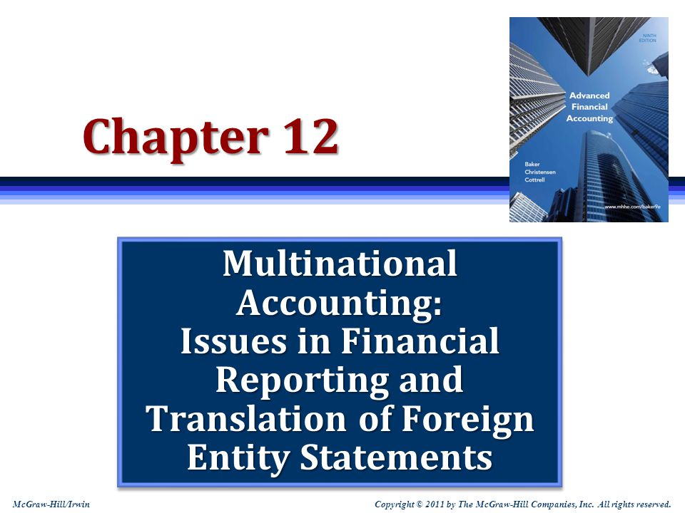 12-52 Hedge of a Net Investment in a Foreign Subsidiary  FASB 133 permits hedging of a net investment in foreign subsidiaries The gain or loss on the effective portion of a hedge of a net investment is taken to other comprehensive income as part of the translation adjustment The amount of offset to comprehensive income is limited to the translation adjustment for the net investment Any excess must be recognized currently in earnings