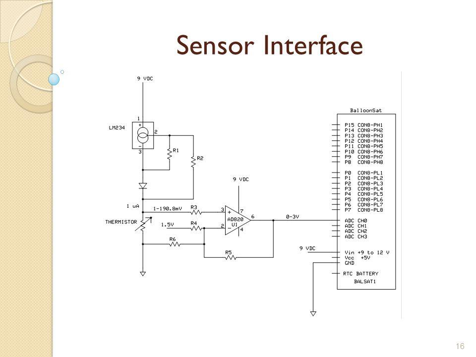 16 Sensor Interface