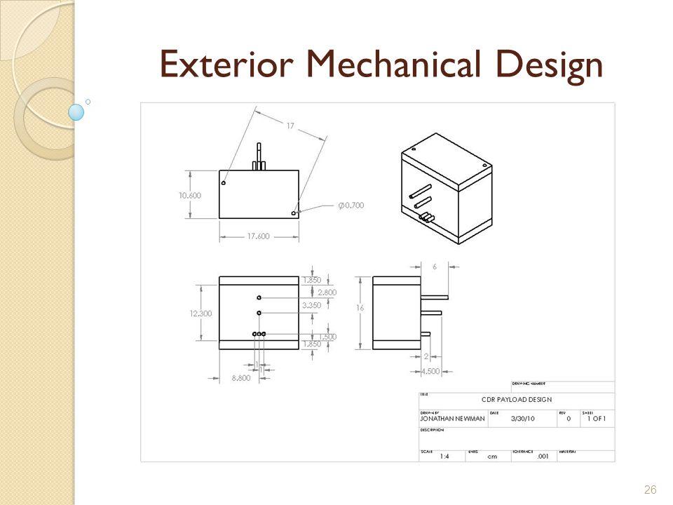 26 Exterior Mechanical Design