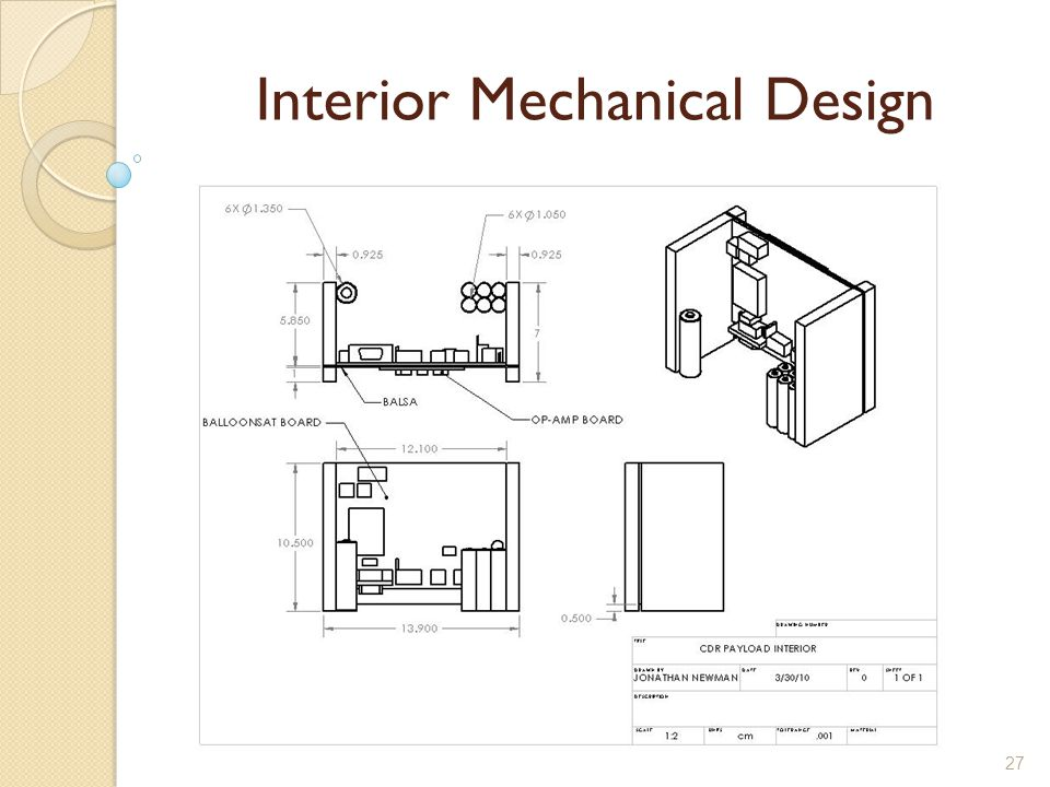 27 Interior Mechanical Design