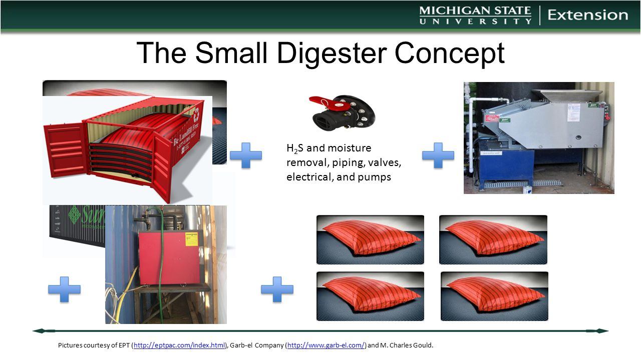 The Small Digester Concept Pictures courtesy of EPT (http://eptpac.com/index.html), Garb-el Company (http://www.garb-el.com/) and M. Charles Gould.htt