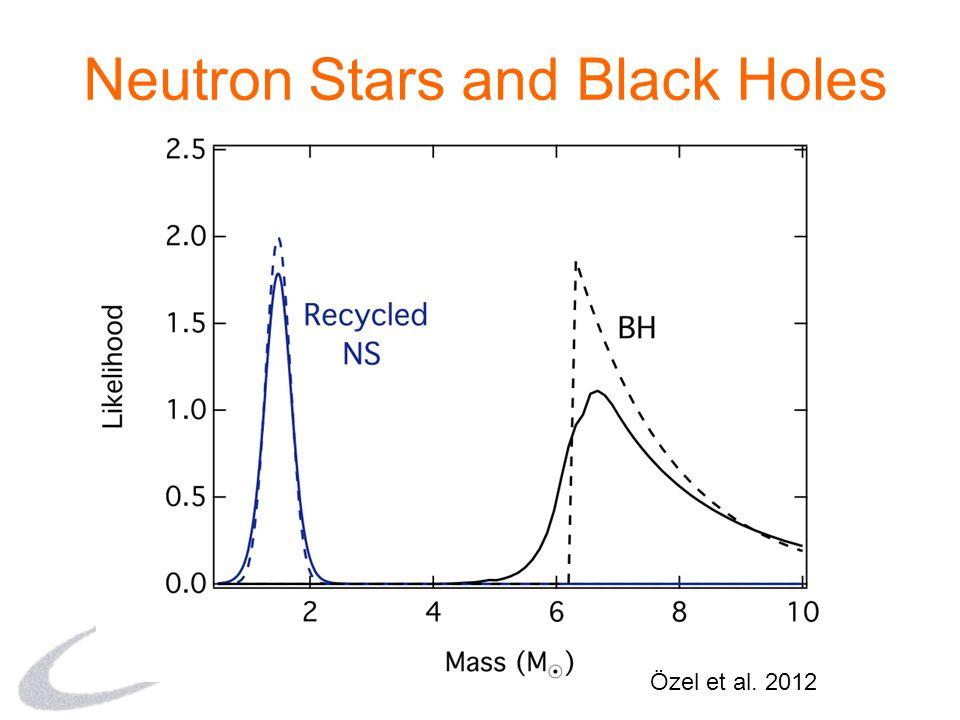 Neutron Stars and Black Holes Özel et al. 2012