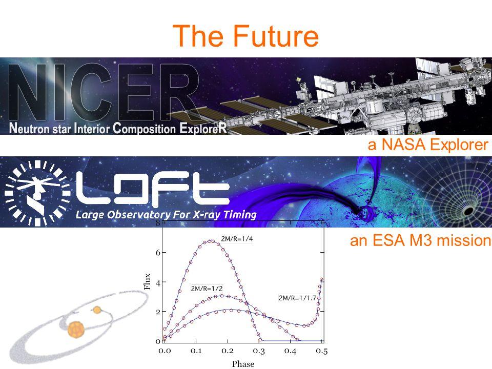 The Future a NASA Explorer an ESA M3 mission