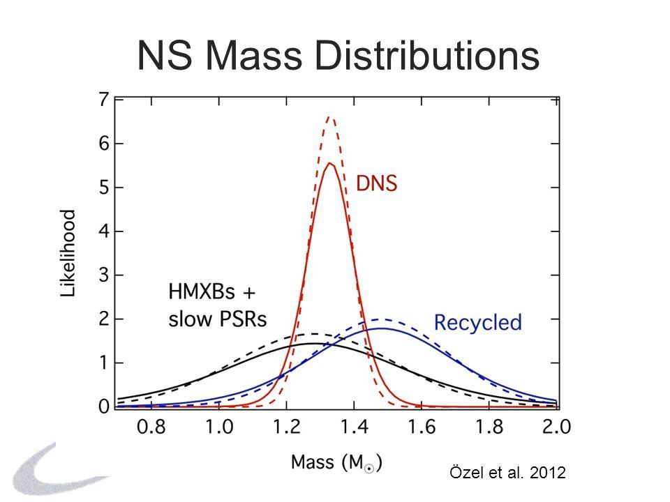 NS Mass Distributions Özel et al. 2012