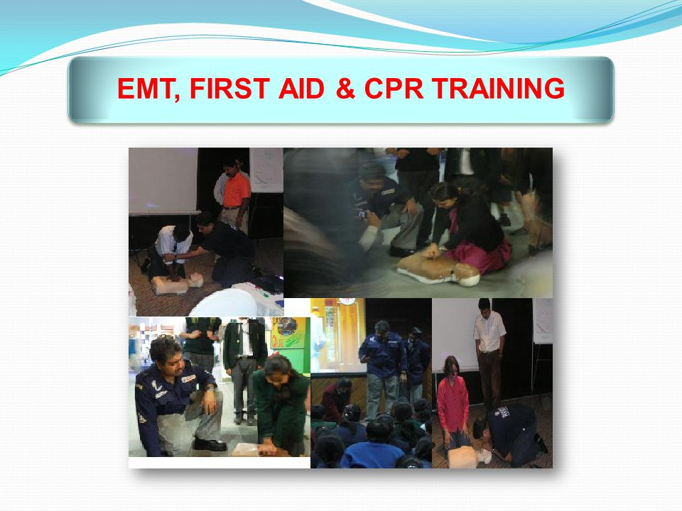 EMT, FIRST AID & CPR TRAINING