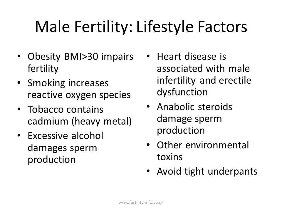 Primary care to Secondary Care The purpose of the basic infertility workup is to (1) identify the likely basis of the underlying obstacle or obstacles and suggest the best evidence-based therapies, and (2) bring understanding and identity to our patients.