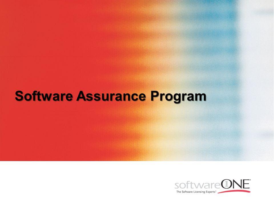 Software Assurance Program