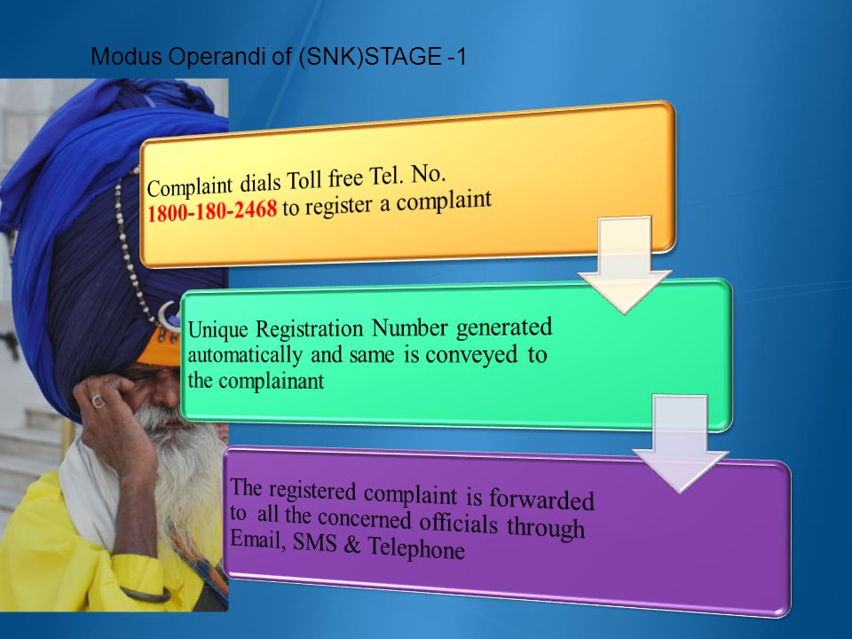 Modus Operandi of (SNK)STAGE -1