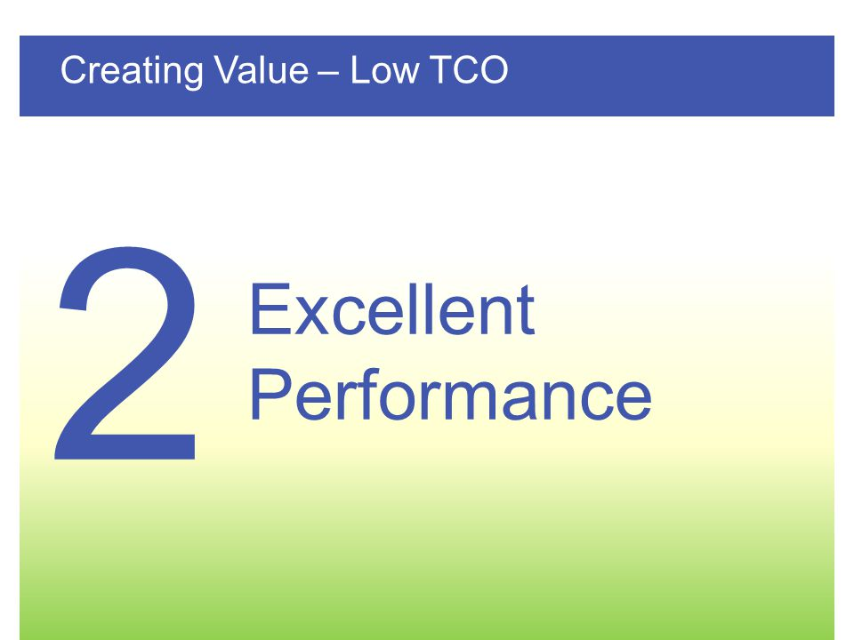 Page 12 GE– Internal & Confidential TLE Series 250-500 kVA/kW UL Creating Value – Low TCO Excellent Performance 2