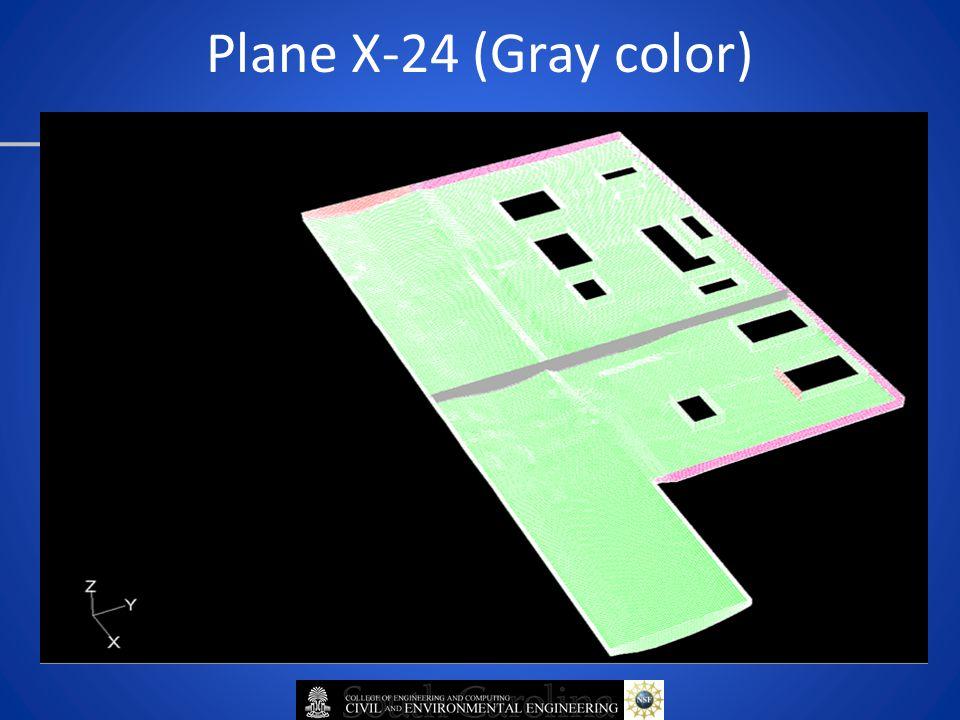 Plane X-24 (Gray color)