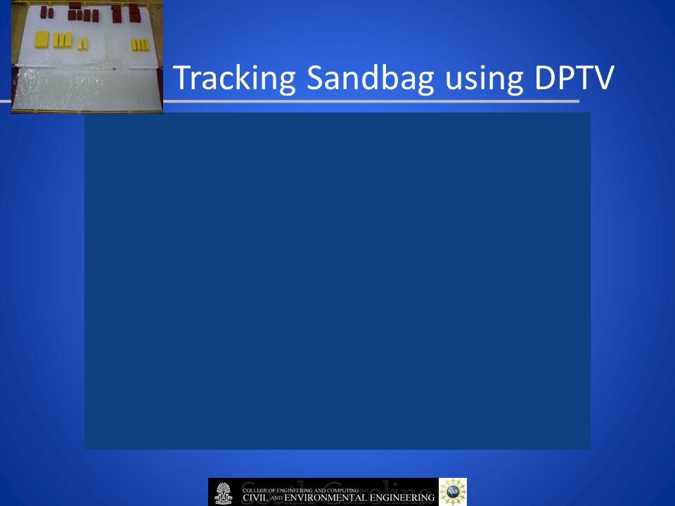 Tracking Sandbag using DPTV