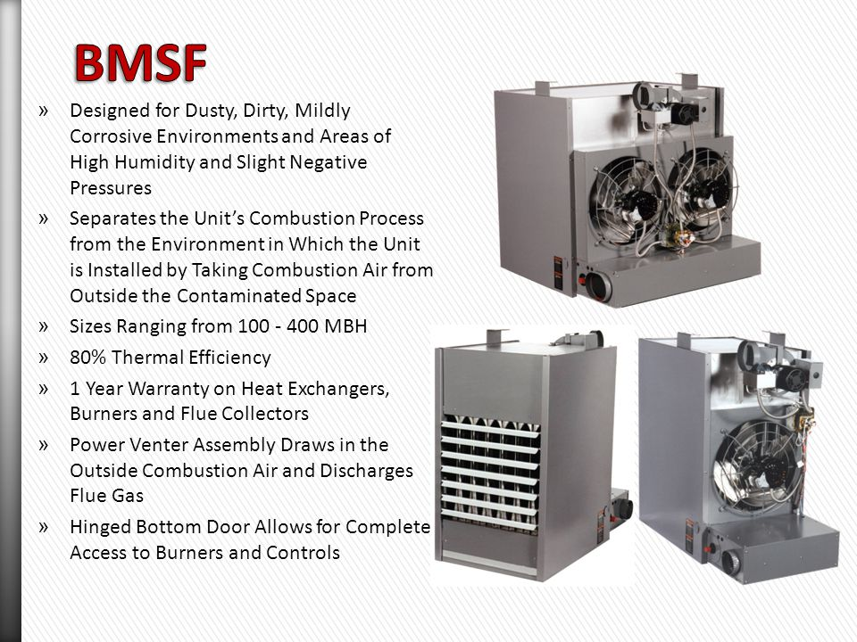 Separated Combustion Units