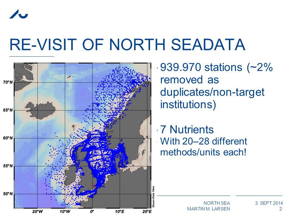 NORTH SEA MARTIN M. LARSEN 3. SEPT 2014 DIVA FOR 2000-14 NOX ›VinterError field 13