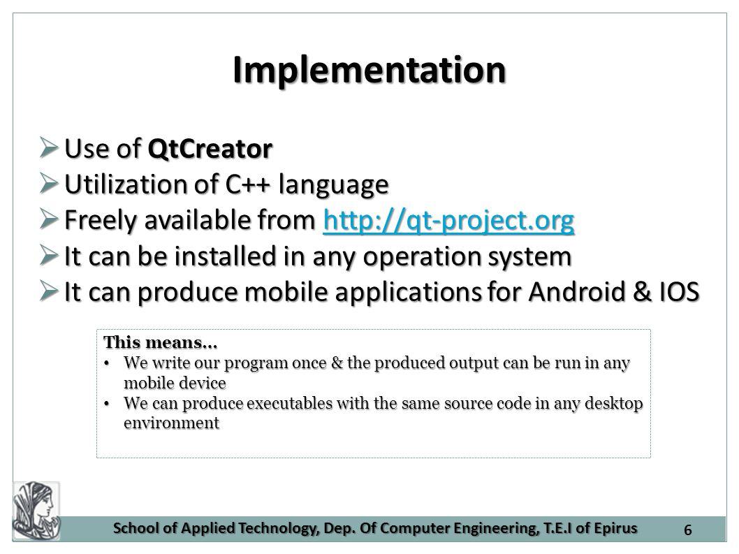 QtCreator Environment 7