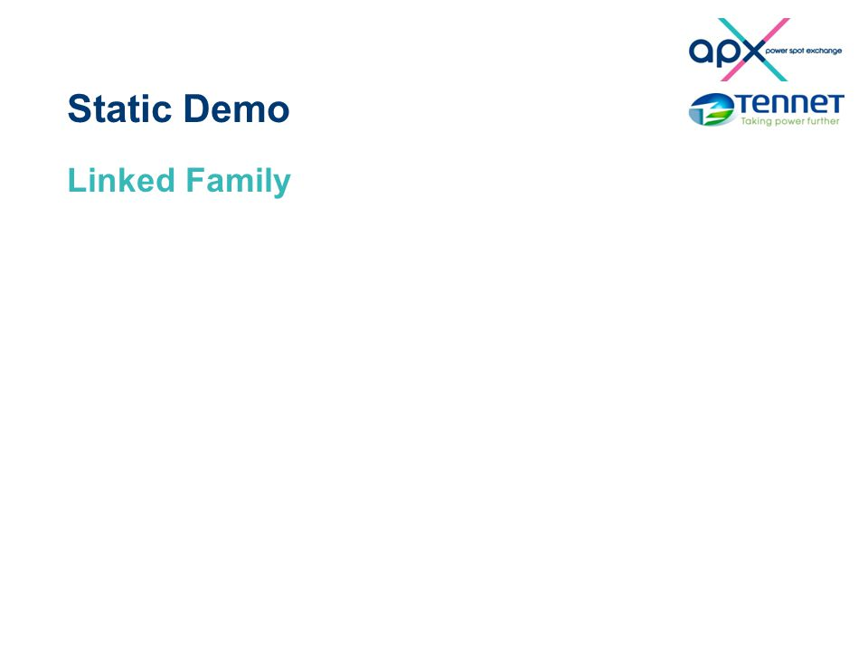 Static Demo Linked Family
