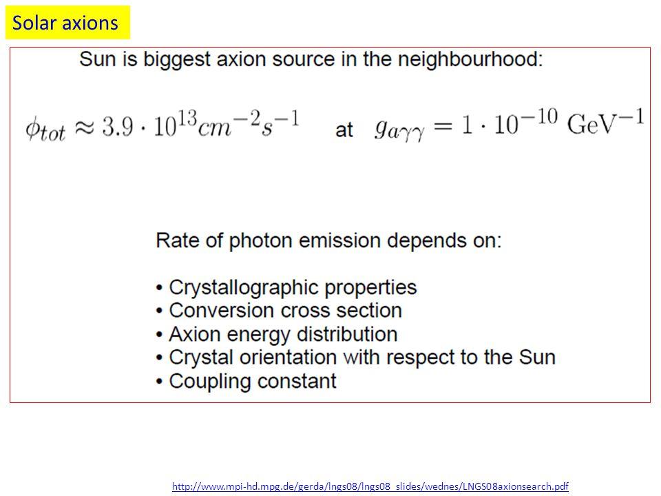 http://www.mpi-hd.mpg.de/gerda/lngs08/lngs08_slides/wednes/LNGS08axionsearch.pdf Solar axions