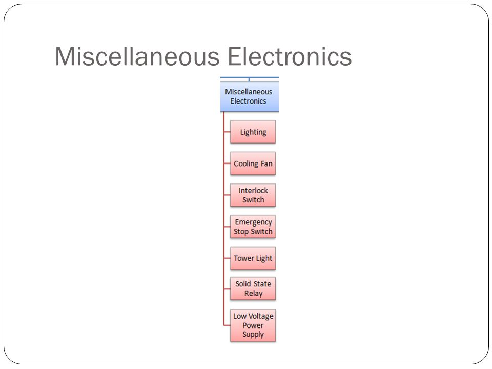 Miscellaneous Electronics