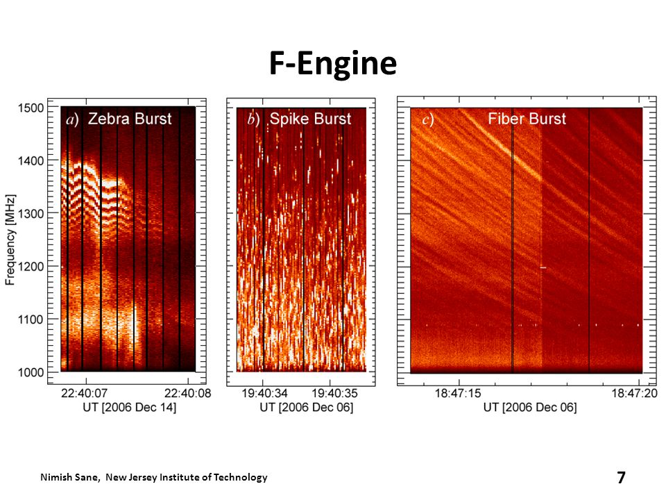 F-Engine Nimish Sane, New Jersey Institute of Technology 7