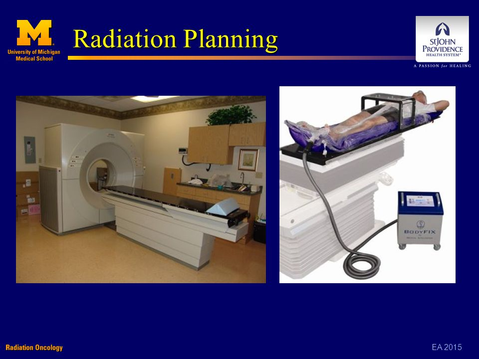 EA 2015 Radiation Planning