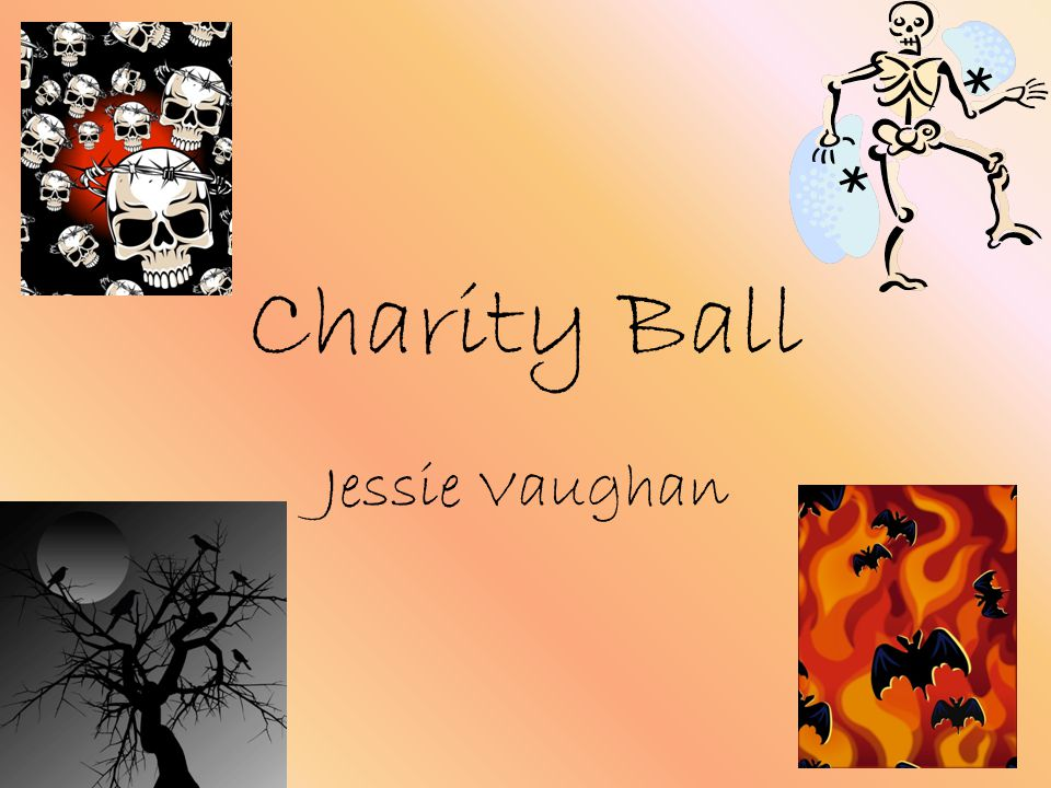Charity Ball Jessie Vaughan