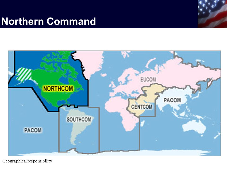 Northern Command Geographical responsibility