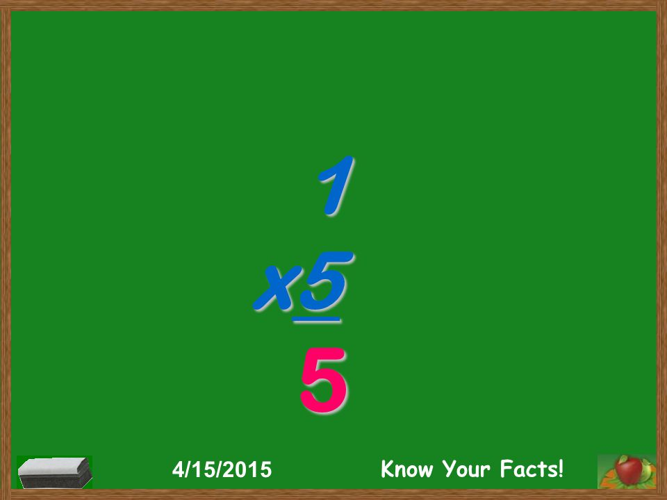 1 x5 5 4/15/2015 Know Your Facts!
