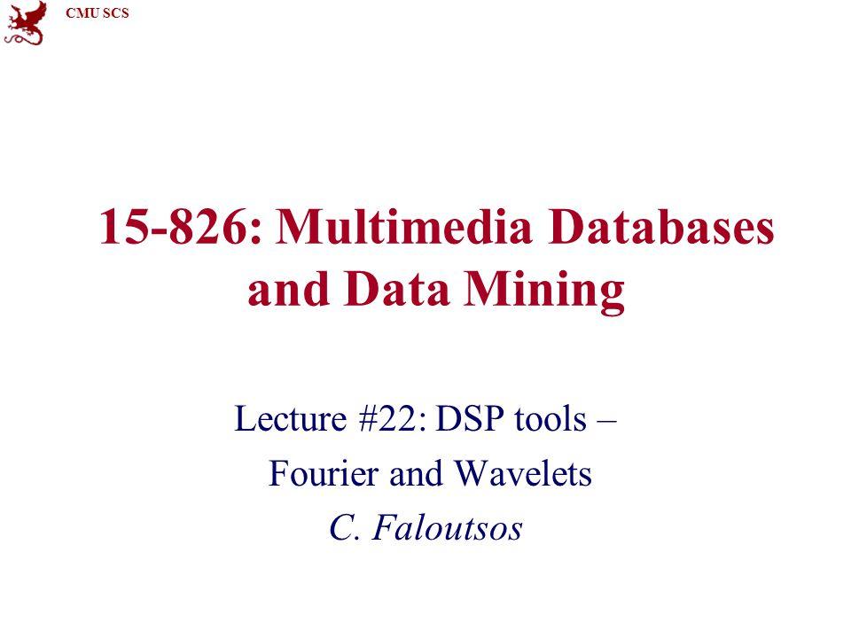 CMU SCS 15-826Copyright: C. Faloutsos (2013)132 Delta? x(0)=1; x(t)= 0 elsewhere t f