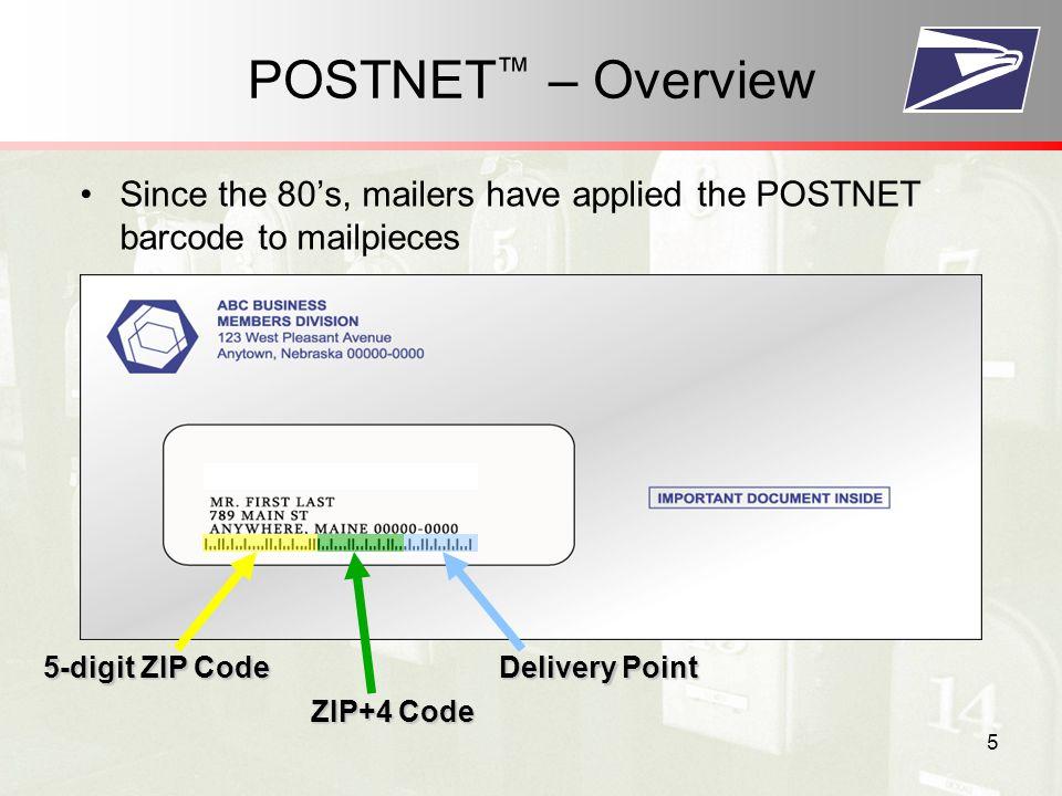 26 PRINT Then, simply apply the Intelligent Mail ® font to the encoded string, and PRINT 3 Print Intelligent Mail® barcode USPS or Vendor Developed Font DADTATFFAFFTTTAFTAFDADFDDDDDTAFFDAAFFDAFDDFFTADFTFTTFDAAFTFTADTTT