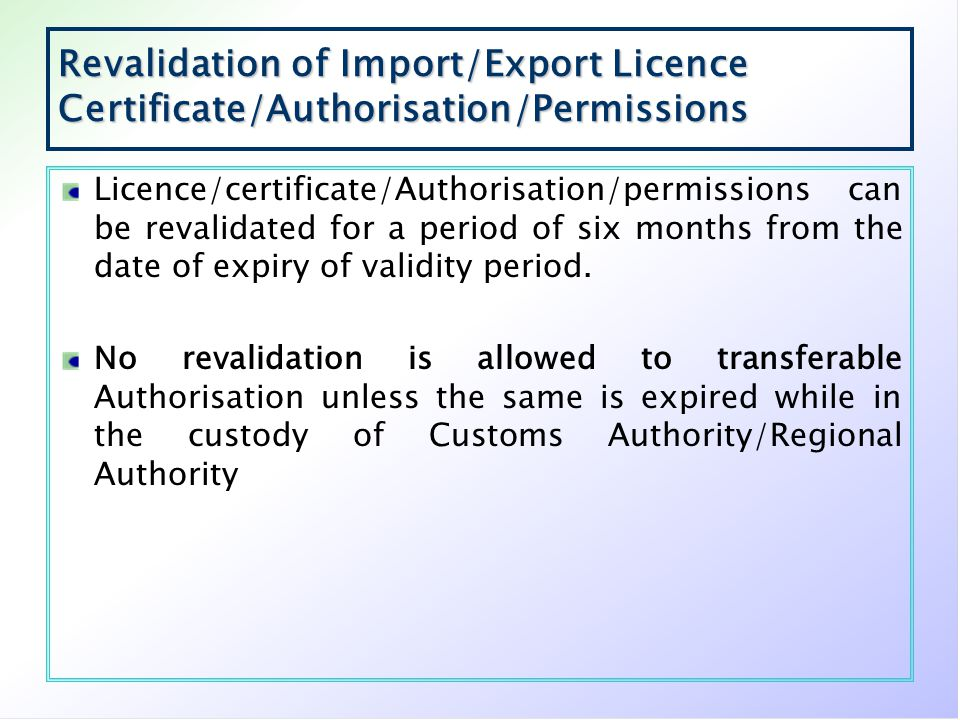 Duty Exemption Scheme The facility of Advance Authorisation entitles exporter to import required inputs for export production without payment of duty subject to export obligation to be completed within prescribed time.