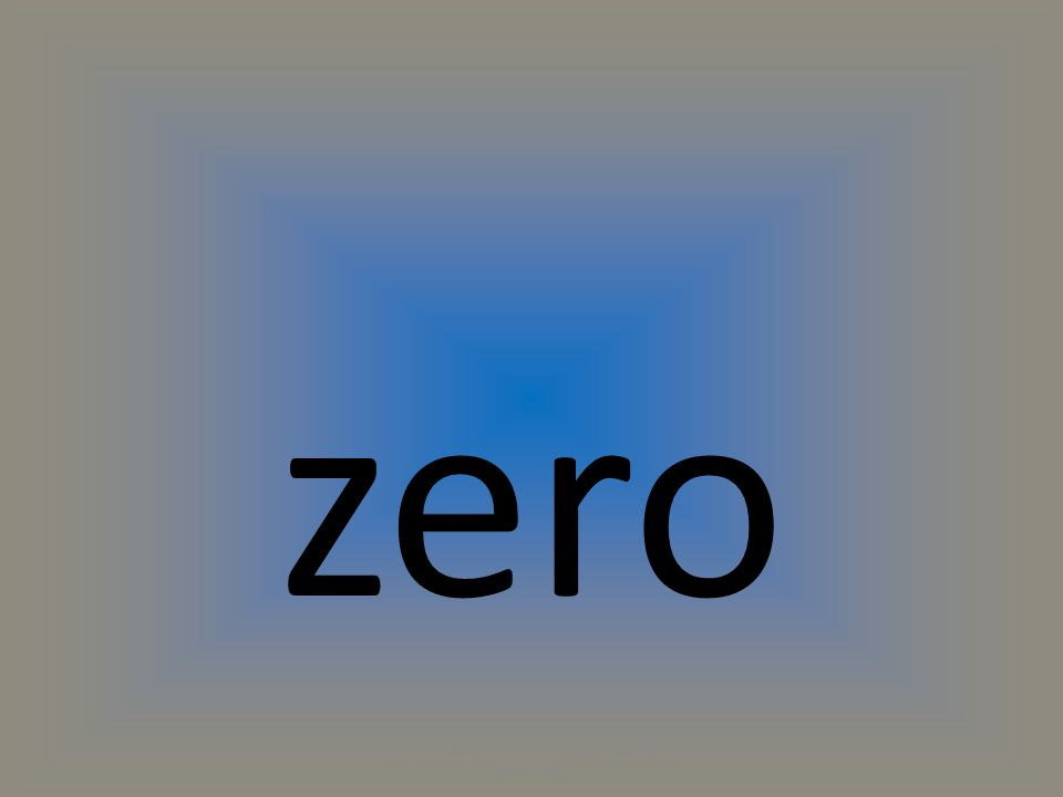 zero (C) 2014 by Exercise ETC Inc. All rights reserved.