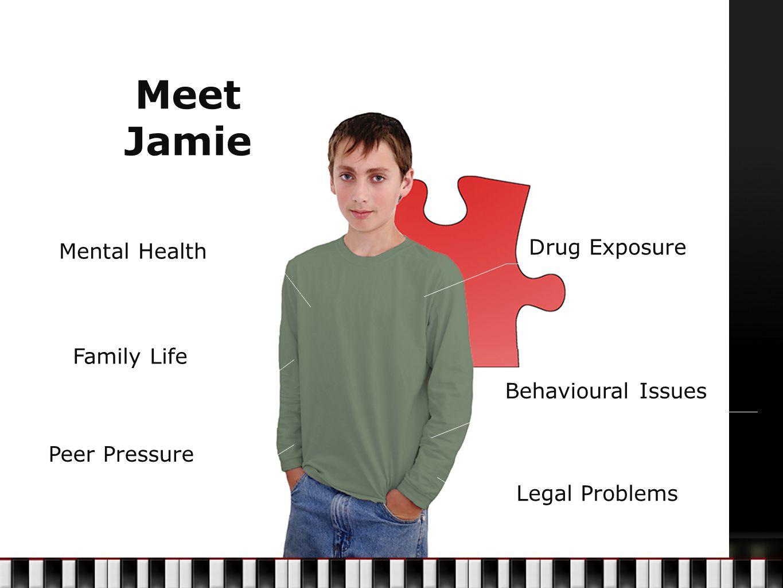 Meet Jamie Mental Health Family Life Peer Pressure Drug Exposure Behavioural Issues Legal Problems