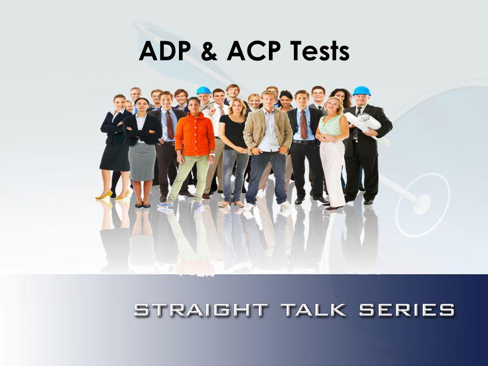 ADP & ACP Tests