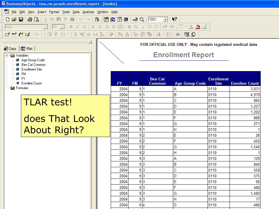 17 TLAR test! does That Look About Right