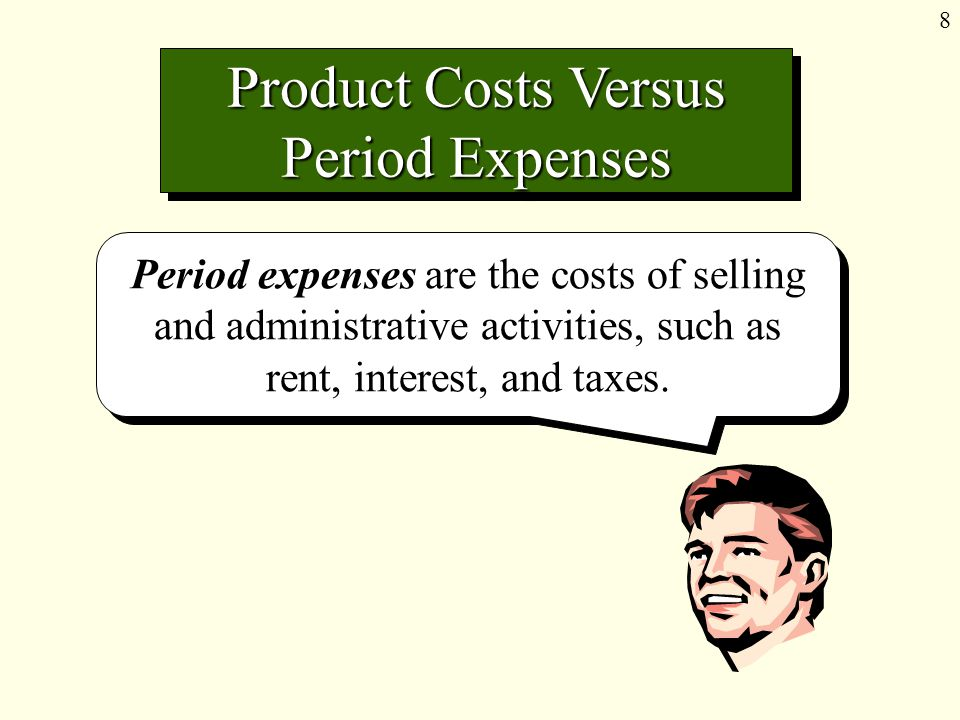 9 Period Expenses Depreciation of Office Equipment Office Supplies Used Administrative Support Salaries
