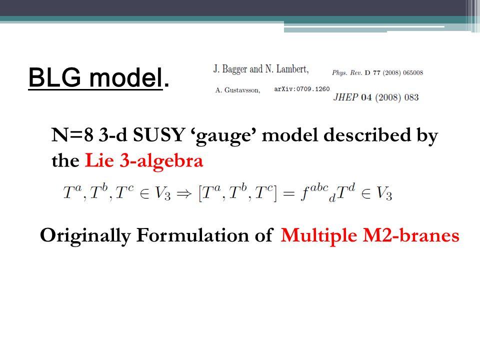 BLG model.