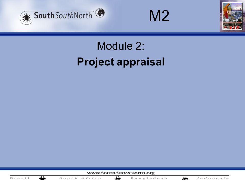 Module 2: Project appraisal M2