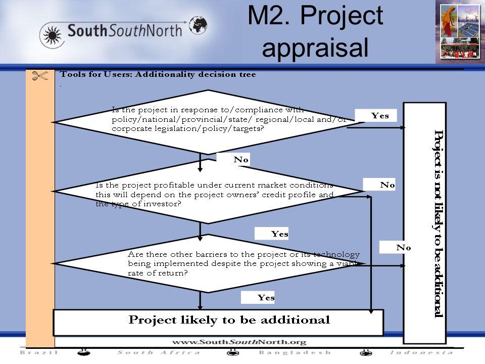 M2. Project appraisal