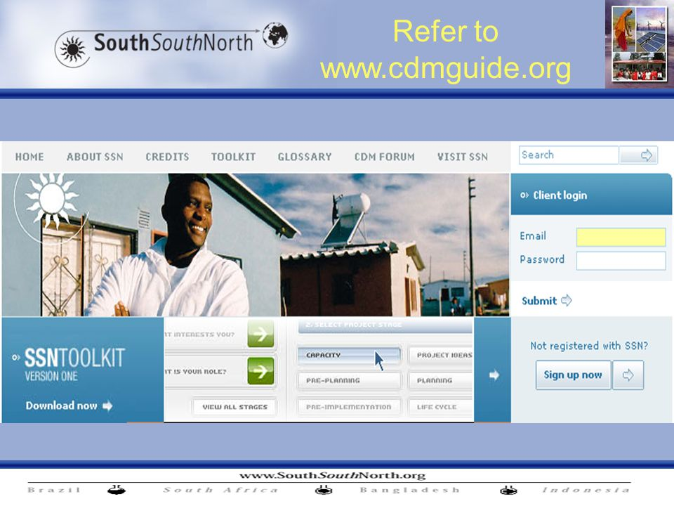 Refer to www.cdmguide.org