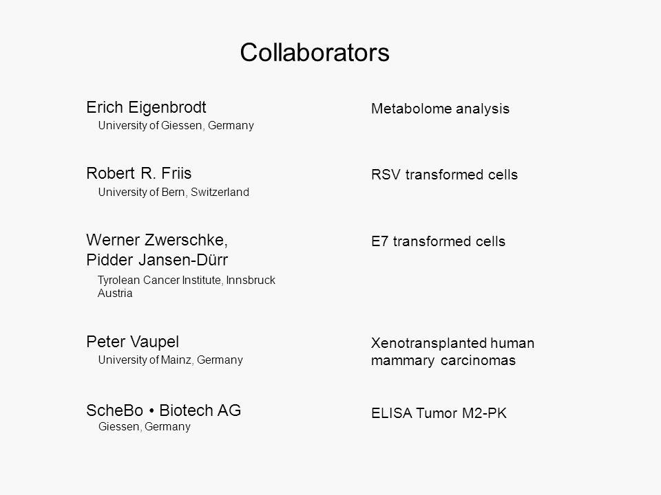 Collaborators Robert R.
