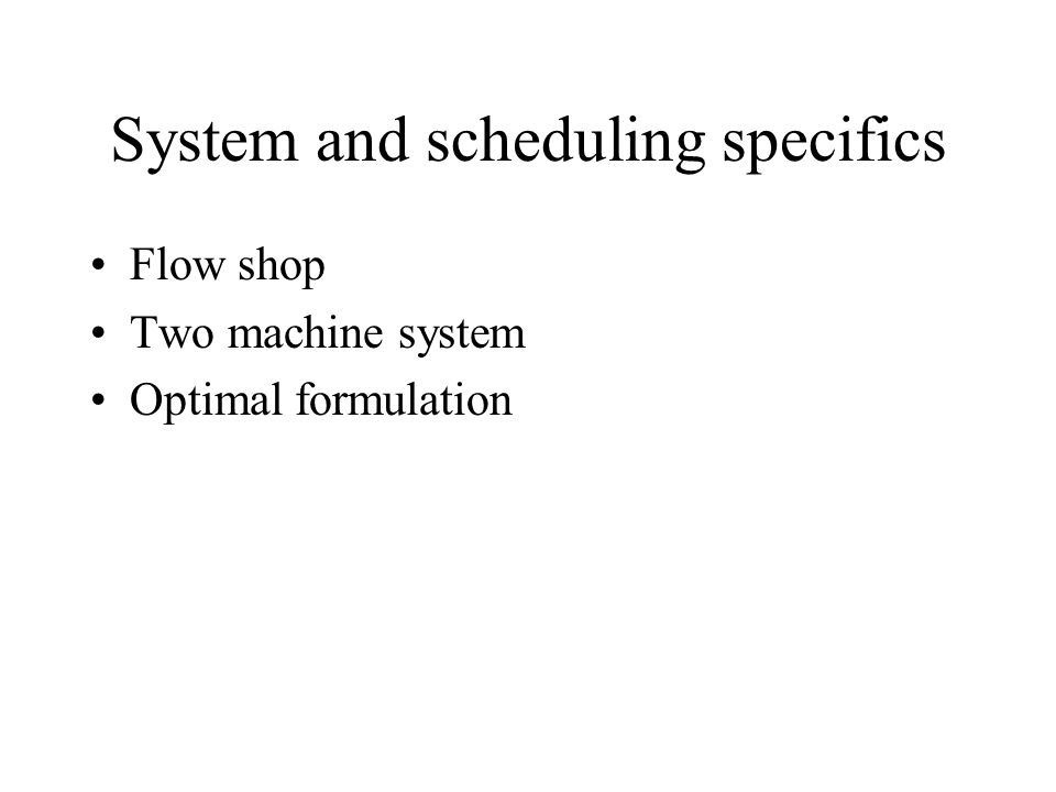 Conclusion Control is the implementation of schedules Schedules dictate much of the system efficiency Implementation is not that hard