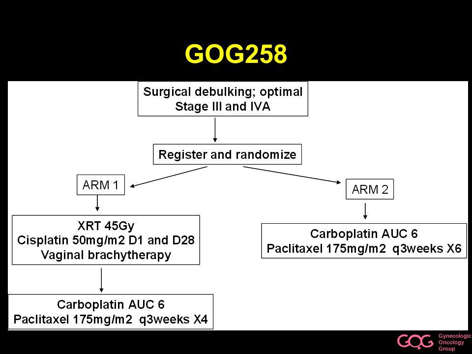 Gynecologic Oncology Group GOG258