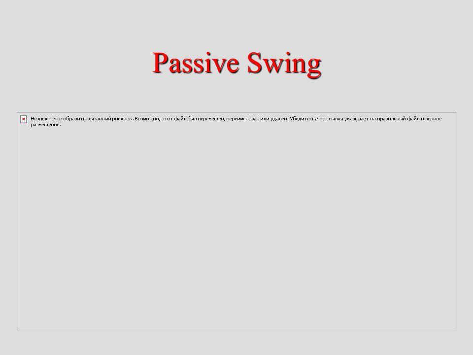 Passive Swing
