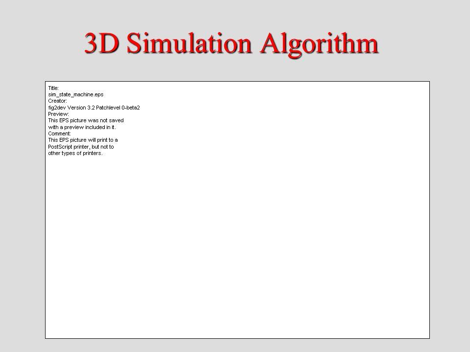 3D Simulation Algorithm